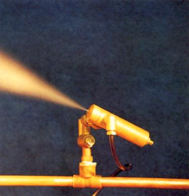 Image of the Silvermist spraying